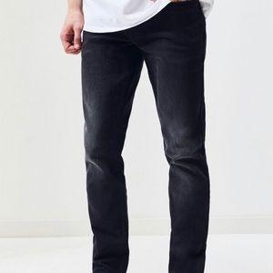 Pacsun men's skinny black jeans